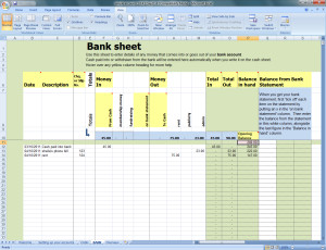 thumbnail screenshot of Bank page