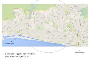 One Stop shop funding radius image